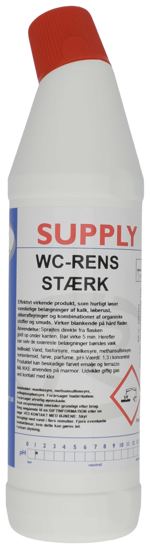 Billede af Supply WC-Rens Stærk 750ml