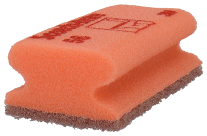 Billede af 3M svamp nylon ridsefri rød