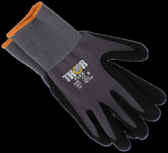 Billede af Thor handske med nitril str. M