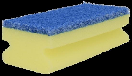Billede af RC svamp med nylon blå