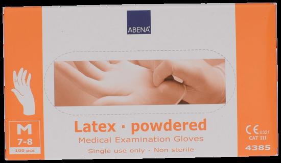 Billede af Latex handsker medium pudret