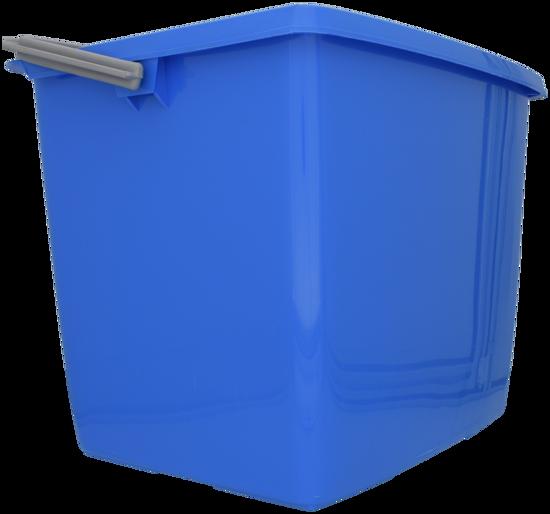 Billede af Dit spand firkantet 13 l Blå